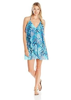 Kenneth Cole Reaction Women's Hit The  Slip Dress Cover Up