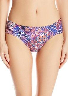 Kenneth Cole Reaction Women's Hit The Surf Sash Tab Bikini Bottom