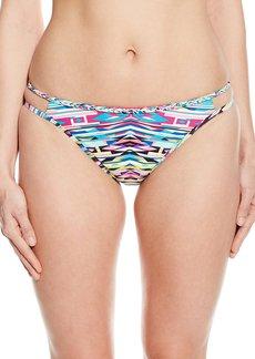 Kenneth Cole Reaction Women's Hot To Trot Tribal Hipster Bikini Bottom