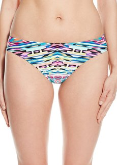 Kenneth Cole Reaction Women's Hot To Trot Tribal Scrunch Back Bikini Bottom