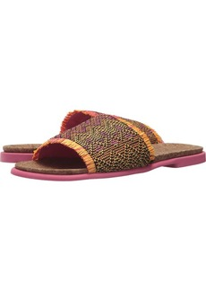 Kenneth Cole REACTION Women's Jel-OUS 2 Woven Slip On Slide Sandal   M US