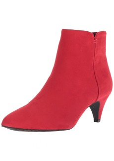 1424b606b68 Kenneth Cole Kenneth Cole REACTION Women s Kick Bit Kitten Heel Bootie  Ankle Boot red