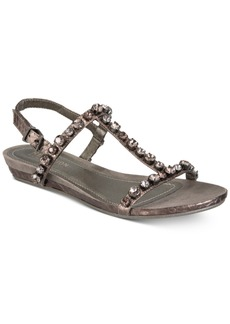 Kenneth Cole Reaction Women's Lost Catch Embellished Wedge Sandals Women's Shoes