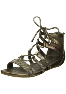 Kenneth Cole REACTION Women's  Lost Look Gladiator Laceup Sandal   M US