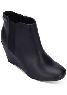 Kenneth Cole Reaction Women's Marcy Wedge Booties Women's Shoes