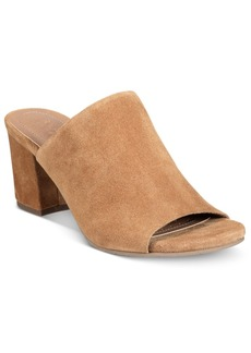 Kenneth Cole Reaction Women's Mass-Ter Mind Peep-Toe Mules Women's Shoes