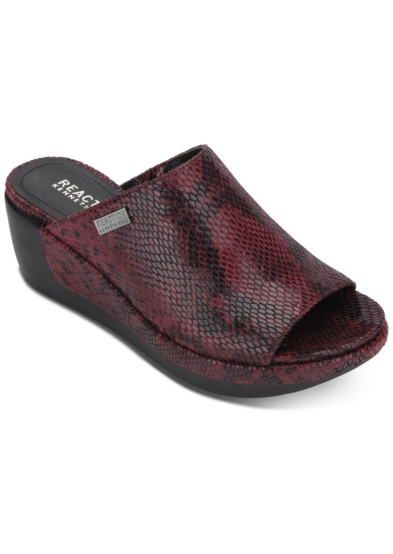 Kenneth Cole Reaction Women's Pepea Slide Wedge Sandals Women's Shoes