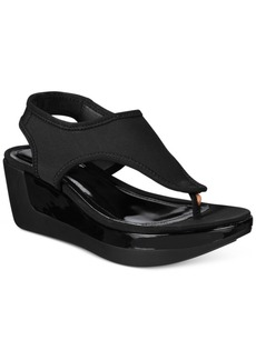 Kenneth Cole Reaction Women's Pepea Star Platform Wedge Sandals Women's Shoes