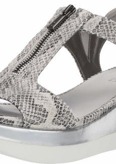 Kenneth Cole REACTION Women's Pepea T-Strap Platform Sandal Wedge   M US