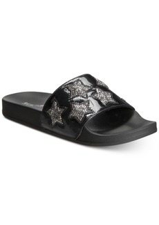 Kenneth Cole Reaction Women's Pool Splash Jewel Flat Sandals Women's Shoes