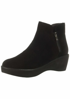 Kenneth Cole REACTION Women's Prime Platform Bootie with Side Zip Ankle Boot   M US
