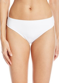 Kenneth Cole Reaction Women's Rainbow Connection Solid Hipster Bikini Bottom  XL