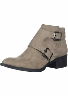 Kenneth Cole REACTION Women's Re-Buckle Moto Ankle Boot   M US