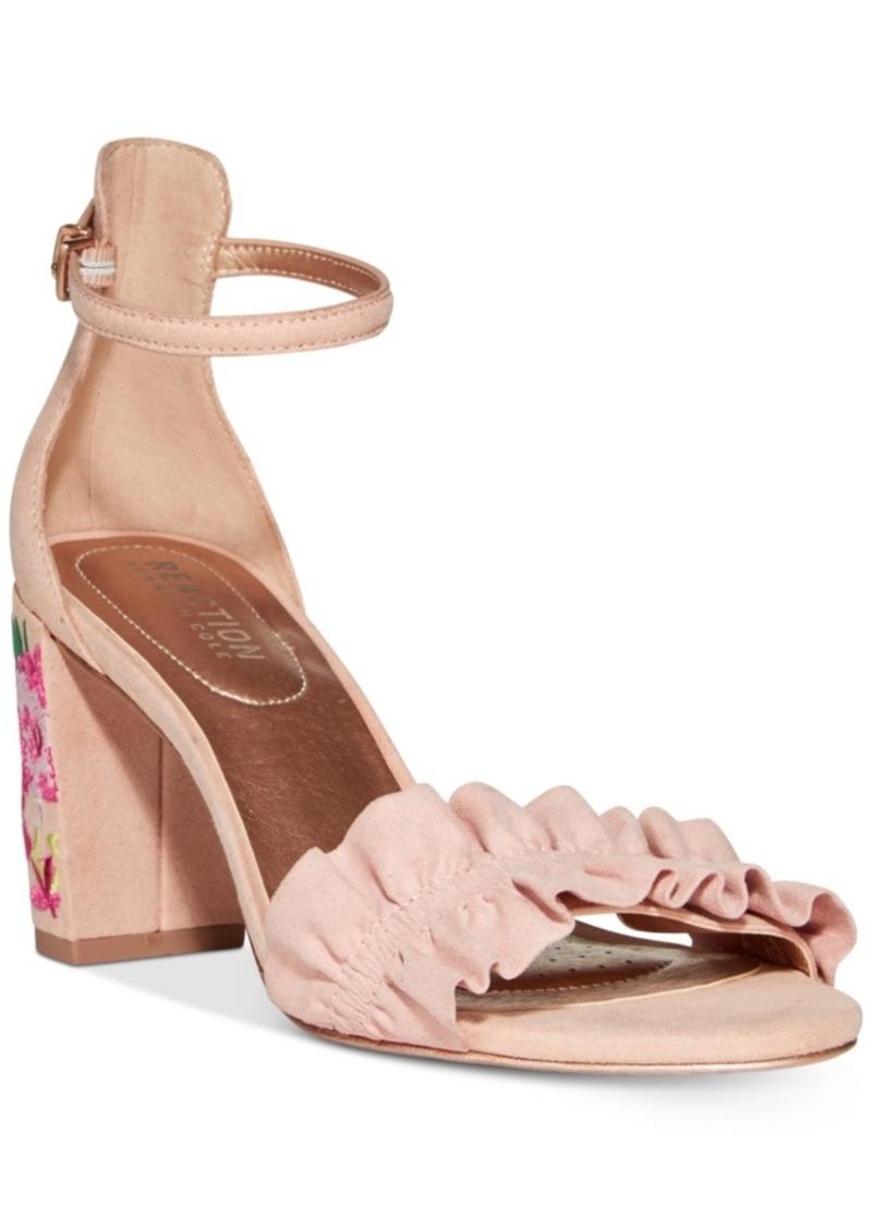 Kenneth Cole Reaction Women's Rise Ruffle Dress Sandals Women's Shoes