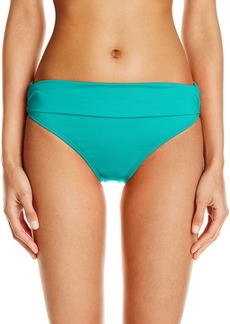 Kenneth Cole Reaction Women's Ruffle-Licious Sash Hipster Bikini Bottom