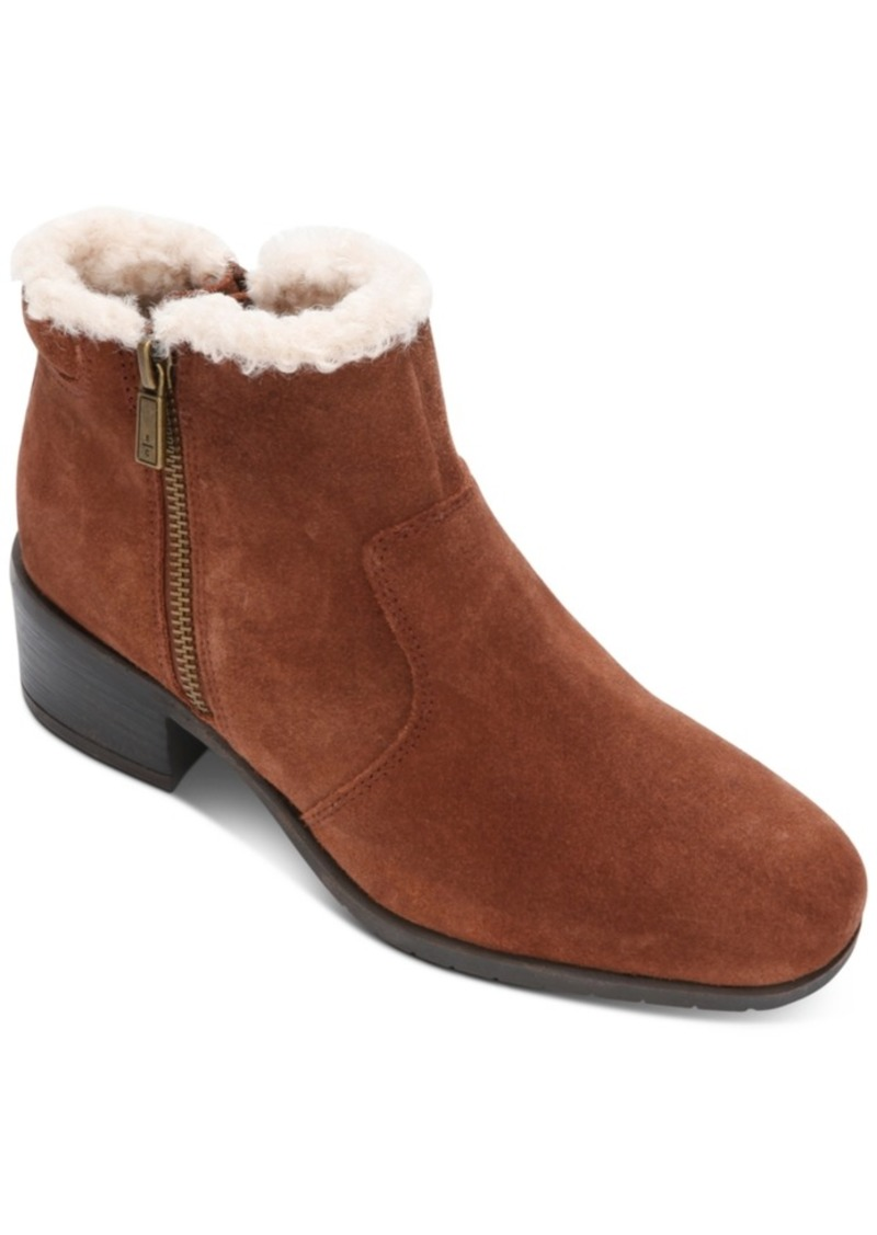 Kenneth Cole Reaction Women's Salt Zip Cozy Booties Women's Shoes