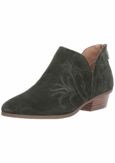 Kenneth Cole REACTION Women's Side Gig Tonal Embroidered Ankle Bootie Boot   M US