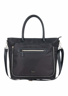 """Kenneth Cole Reaction Women's Silky Polyester Top Zip Anti-Theft RFID Expandable 15"""" Laptop & Tablet Business Tote"""