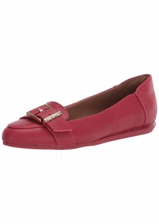 Kenneth Cole REACTION Women's Slip on Flat with Buckle Detail Loafer