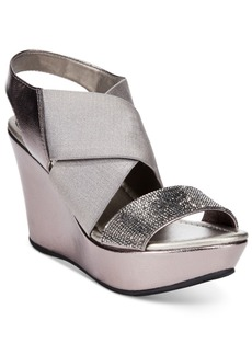 Kenneth Cole Reaction Women's Sole Less 2 Platform Wedge Sandals Women's Shoes