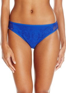 Kenneth Cole Reaction Women's Suns Out Buns Out Crochet Hipster Bikini Bottom
