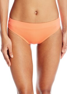 Kenneth Cole Reaction Women's Suns Out Crochet Buns Out Solid Bikini Bottom