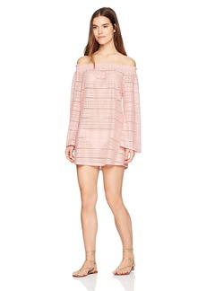 Kenneth Cole REACTION Women's To The Beat Solid Bell Sleeve Dress Cover up
