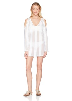 Kenneth Cole REACTION Women's to The Beat Solid Knit Dress Cover Up