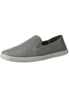 Kenneth Cole REACTION Women's Wave Crash Casual Slip On Skimmer Ballet Flat dust Grey  M US