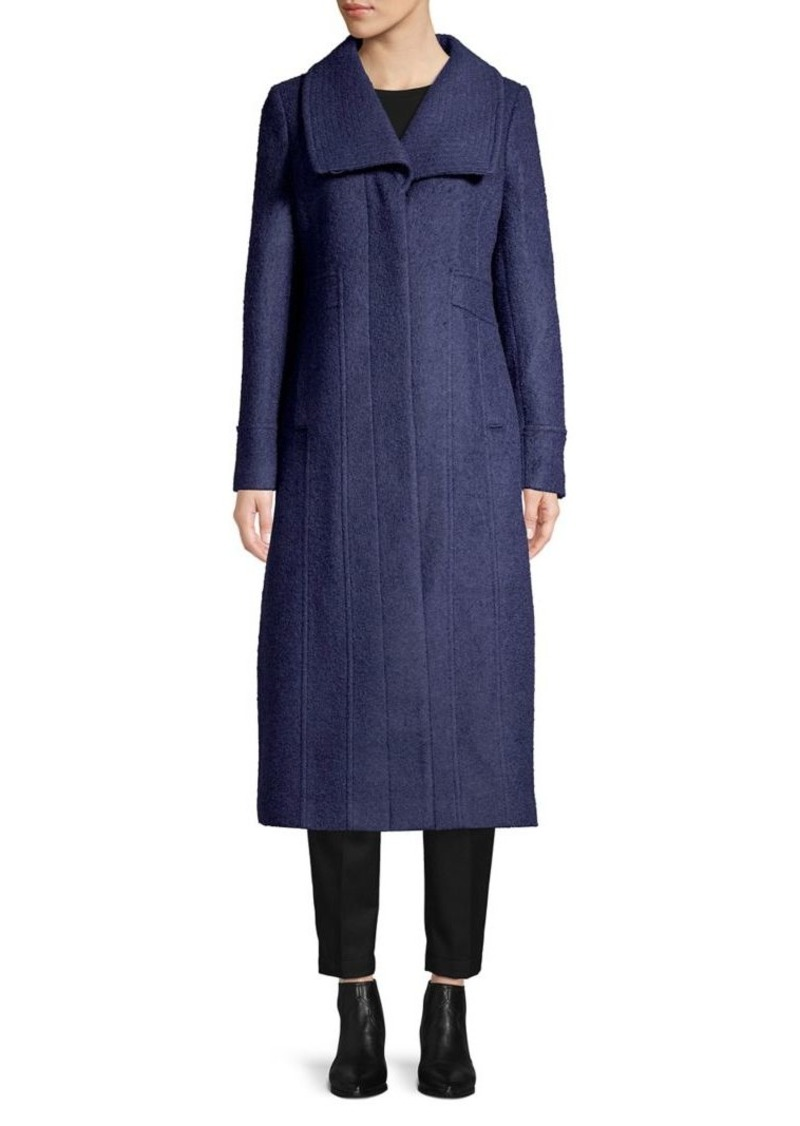 Kenneth Cole REACTION Wool-Blend Maxi Coat