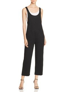 Kenneth Cole Relaxed Layered Crop Jumpsuit