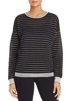 Kenneth Cole Ribbed Stripe Sweater