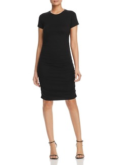 Kenneth Cole Ruched Knit Dress