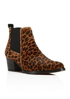 Kenneth Cole Russie Leopard Print Calf Hair Chelsea Booties - 100% Bloomingdale's Exclusive