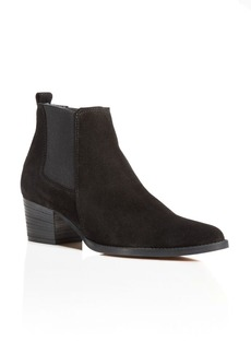 Kenneth Cole Russie Suede Chelsea Booties - 100% Exclusive