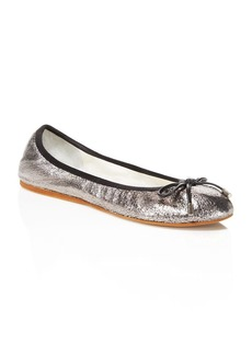 Kenneth Cole Saturn Metallic Ballet Flats