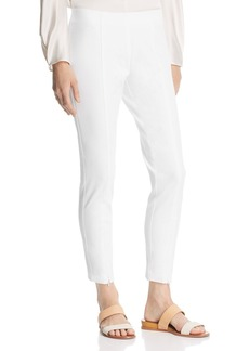 Kenneth Cole Seamed Skinny Ankle Pants