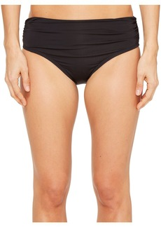 Kenneth Cole Shirred Bikini Bottom