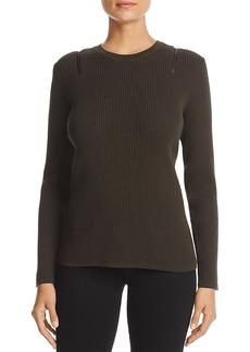Kenneth Cole Shoulder Zip Sweater