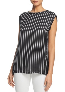 Kenneth Cole Sleeveless Circle Blouse