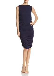 Kenneth Cole Sleeveless Ruched Dress