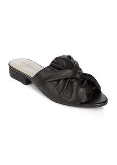 Kenneth Cole Slide Leather Sandals