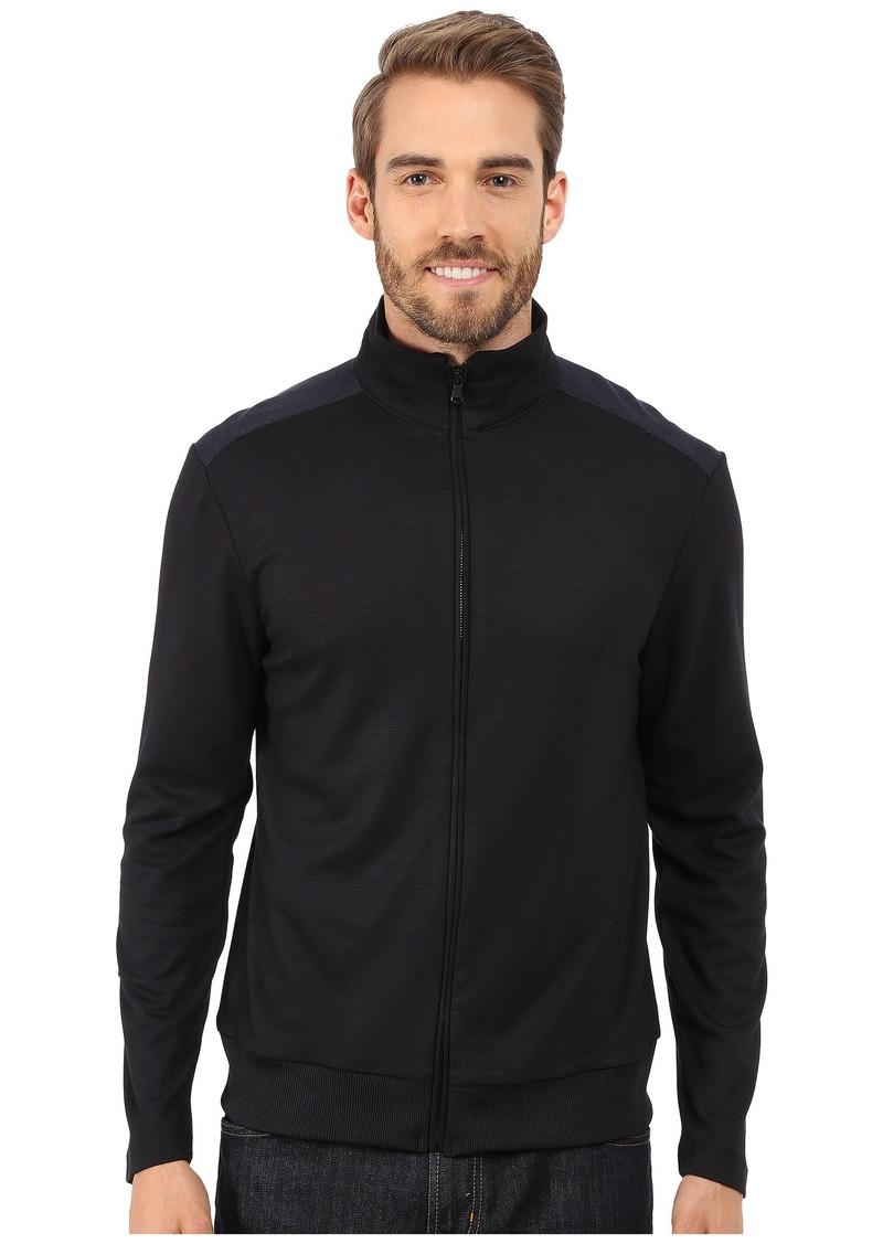Kenneth Cole Sportswear Long Sleeve Full Zip Mock