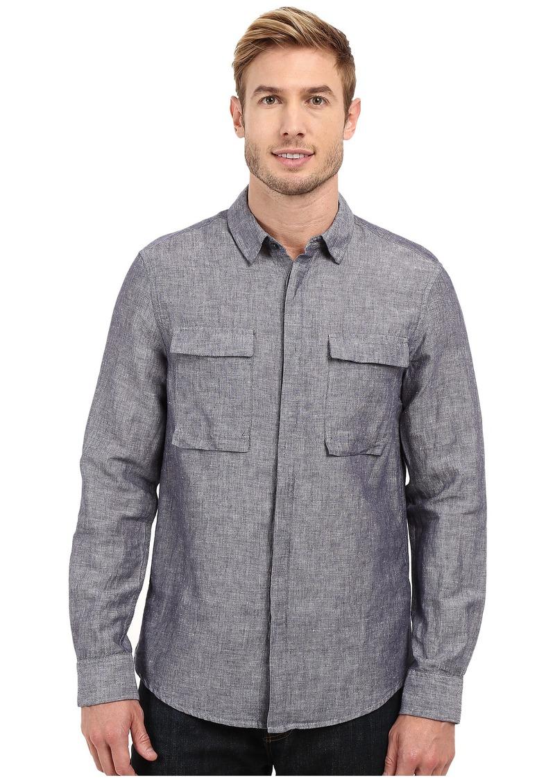 Kenneth Cole Sportswear Long Sleeve Modern Utility Shirt