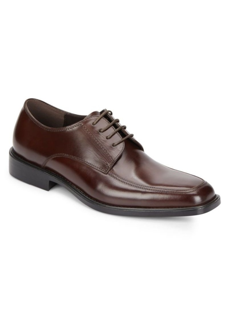 Kenneth Cole Strike Back Leather Derby Shoes
