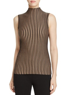 Kenneth Cole Striped Rib-Knit Sweater
