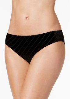 Kenneth Cole Sultry Solids Velvet Hipster Bikini Bottoms Women's Swimsuit