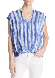Kenneth Cole Tie-Dye Stripe High/Low Top