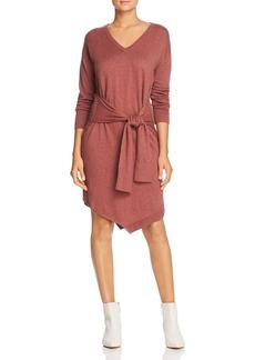 Kenneth Cole Tie-Waist Sweater Dress