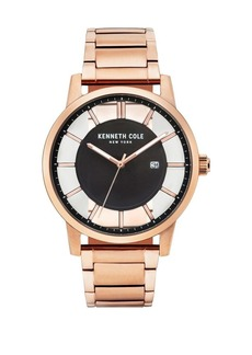 Kenneth Cole Transparency Stainless Steel Bracelet Watch